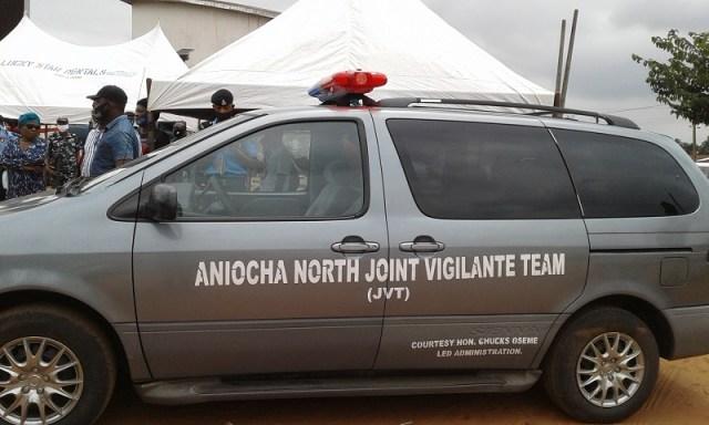 Aniocha North Joint Vigilante Operational Vehicle