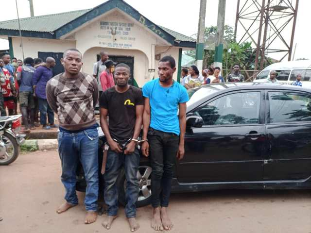Church Burglars Arrested in Agbor
