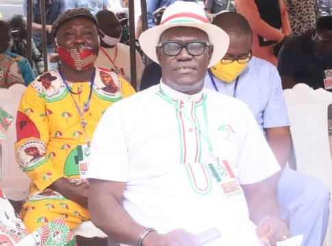 Chief Kingsley Esiso as Chairman. Peoples Democratic Party (PDP) Delta State Chapter.