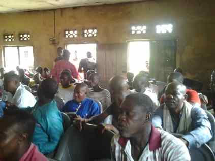 PDP members at Burutu Ward Four