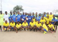 Aladja/Ogbe-Ijoh Peace Novelty Football Match