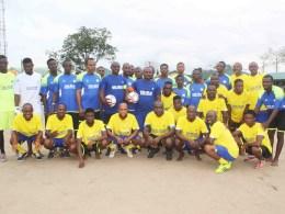Aladja/Ogbe-Ijoh Peace Novelty Football Match