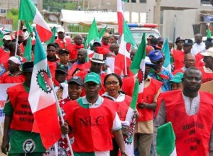 NLC Strike Protest