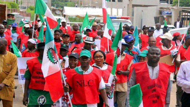 NLC Strike Protest