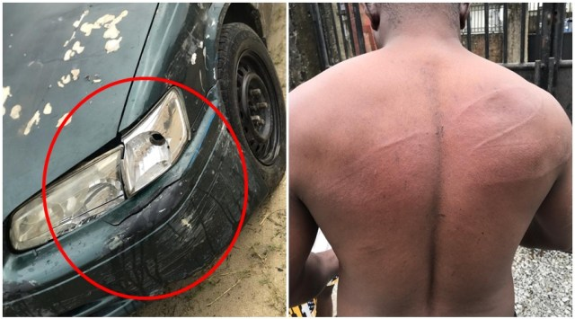 Evidence of Police Assault on Delta Journalist, Barr. Akpokona Omafuaire