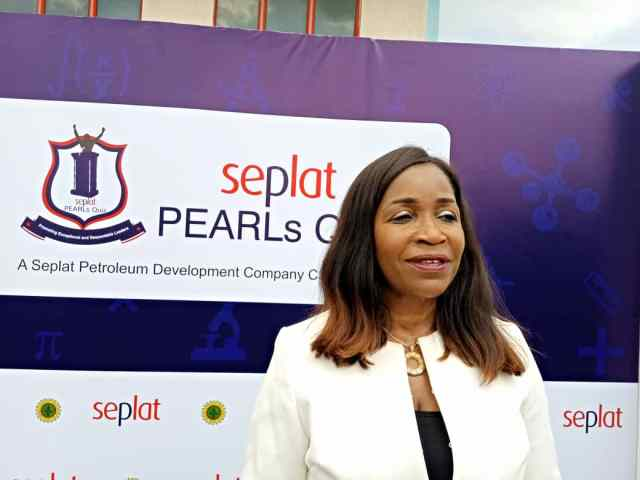 Dr Chioma Nwachuku, General Manager, External Affairs and Communication, SEPLAT