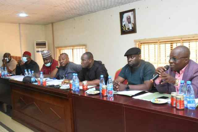 Members of the Delta State State House of Assembly Committee on Education