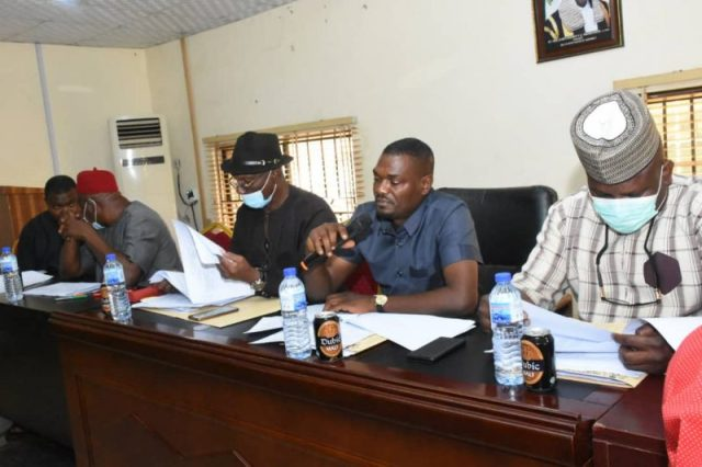 Members of Delta State House of Assembly Committee on Establishment, Ethics and Privileges