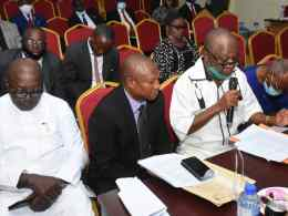 Chief Mike Ogbodu,Chairman, Delta State Independent Electoral Commission, DSIEC