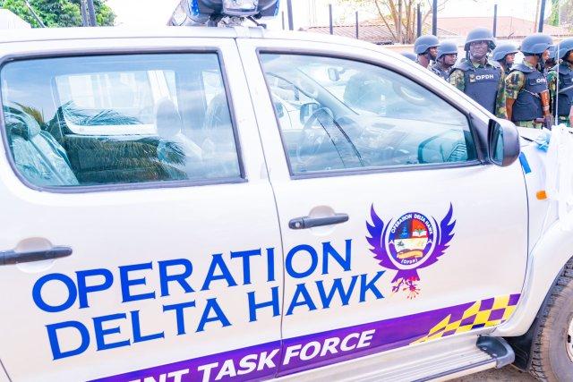 Operation Delta Hawk Vehicle