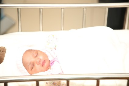 The first baby of the year 2021 in Delta State, baby Joy who weighed 2.6kg and born at 12:15am on January 1, 2021 at the Asaba Specialist Hospital.