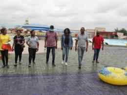 Members of Delta NIPR Visits Park Vegas Water Park, Ewuru, Agbor