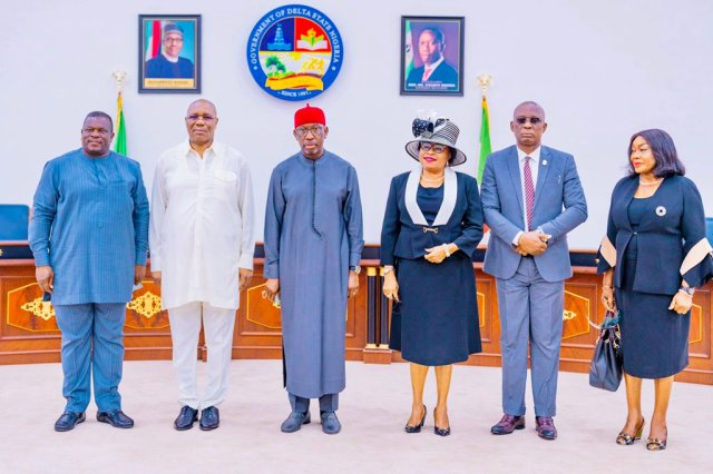 Swearing-in of new Chief Judge of the State, Justice Theresa Diai at Government House, Asaba on Monday, May 24, 2021