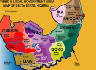 Delta State Ethnic Map