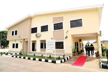 Elumelu Constituency Project - Delta DSS Staff Quarters and Clinic