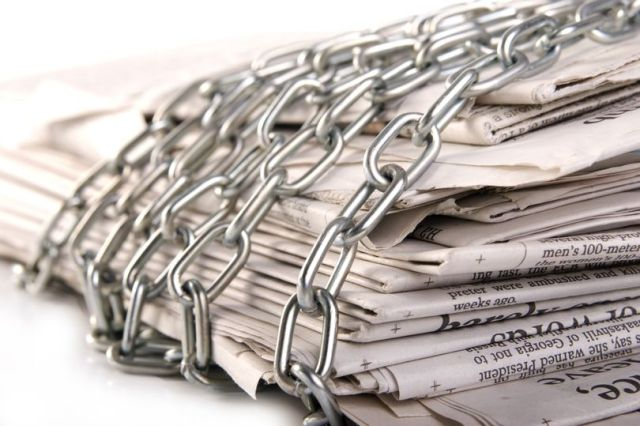media gagging
