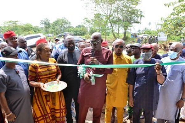 Inauguration of Elumelu Constituency Projects