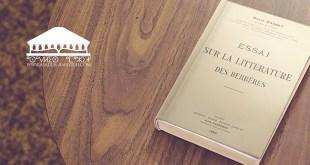 essai sur la littérature des bérbères