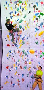 高知)登れ登れ15メートル クライミングセンター - 一般スポーツ,テニス,バスケット,ラグビー,アメフット,格闘技,陸上:朝日新聞デジタル