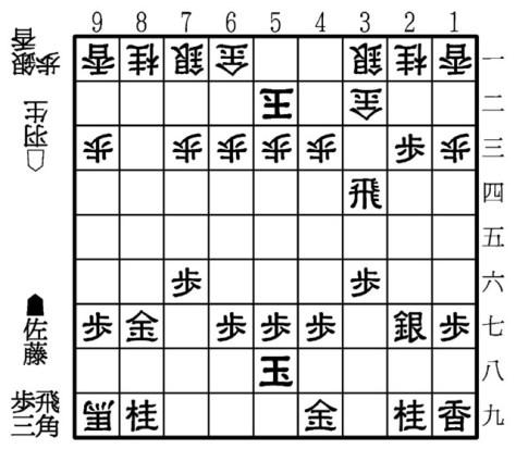 【B図】第4局▲2三歩まで