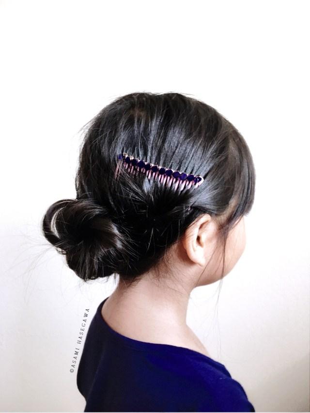 diy beaded hair comb
