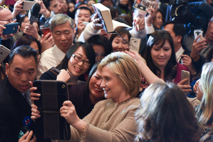Views From The Edge: Can Hillary Clinton win over ...