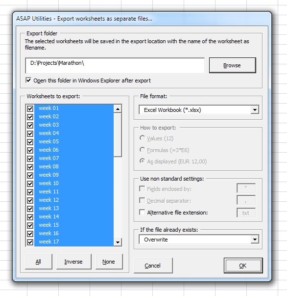 Asap Utilities For Excel Blog How To Select A Number