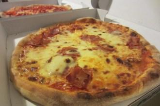 09. Pizza Proscuitto - with extra mozzarella - from Pizza Kiara