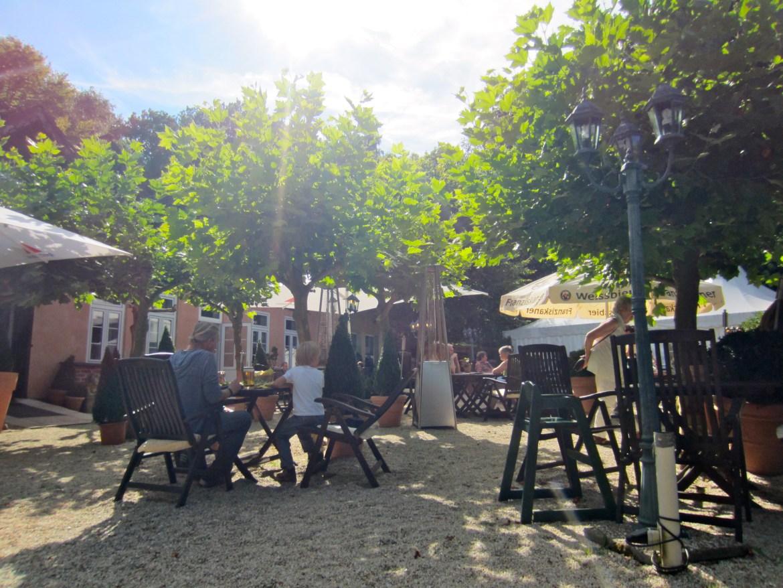 Beergarden at the Chauseehaus Wiesbaden