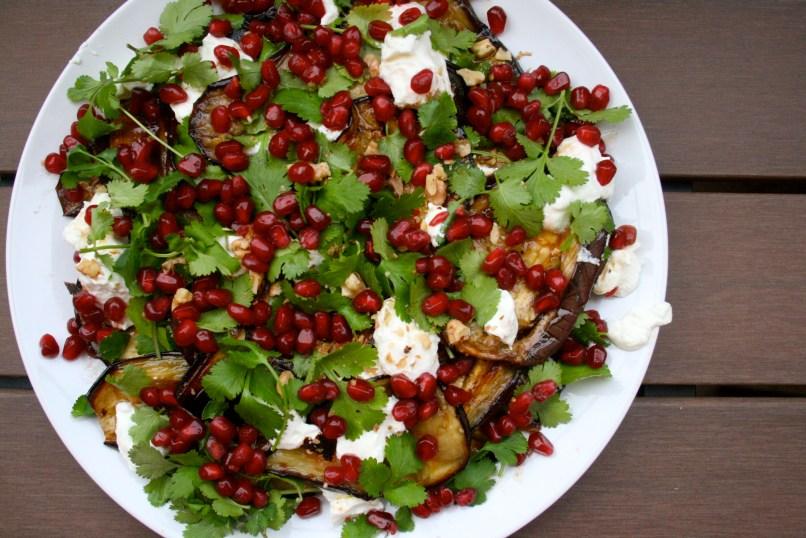 Diana Henry's Georgian aubergine salad
