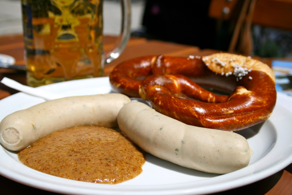 German Sausage Guide #2: Weisswurst