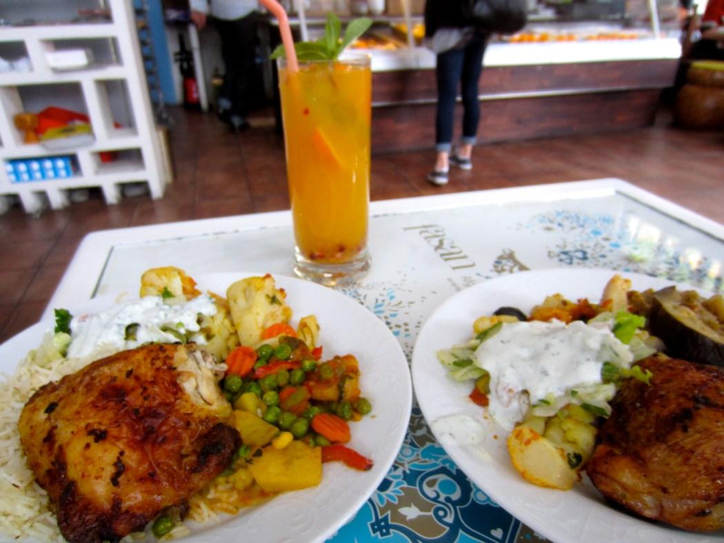 Afghani food