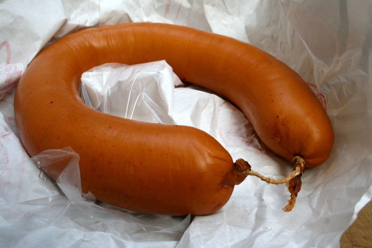 German Sausage Guide #1: Fleischwurst