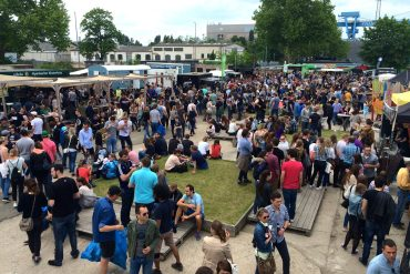 Planke Nord, Mainz for the Mainz Street Food Festival
