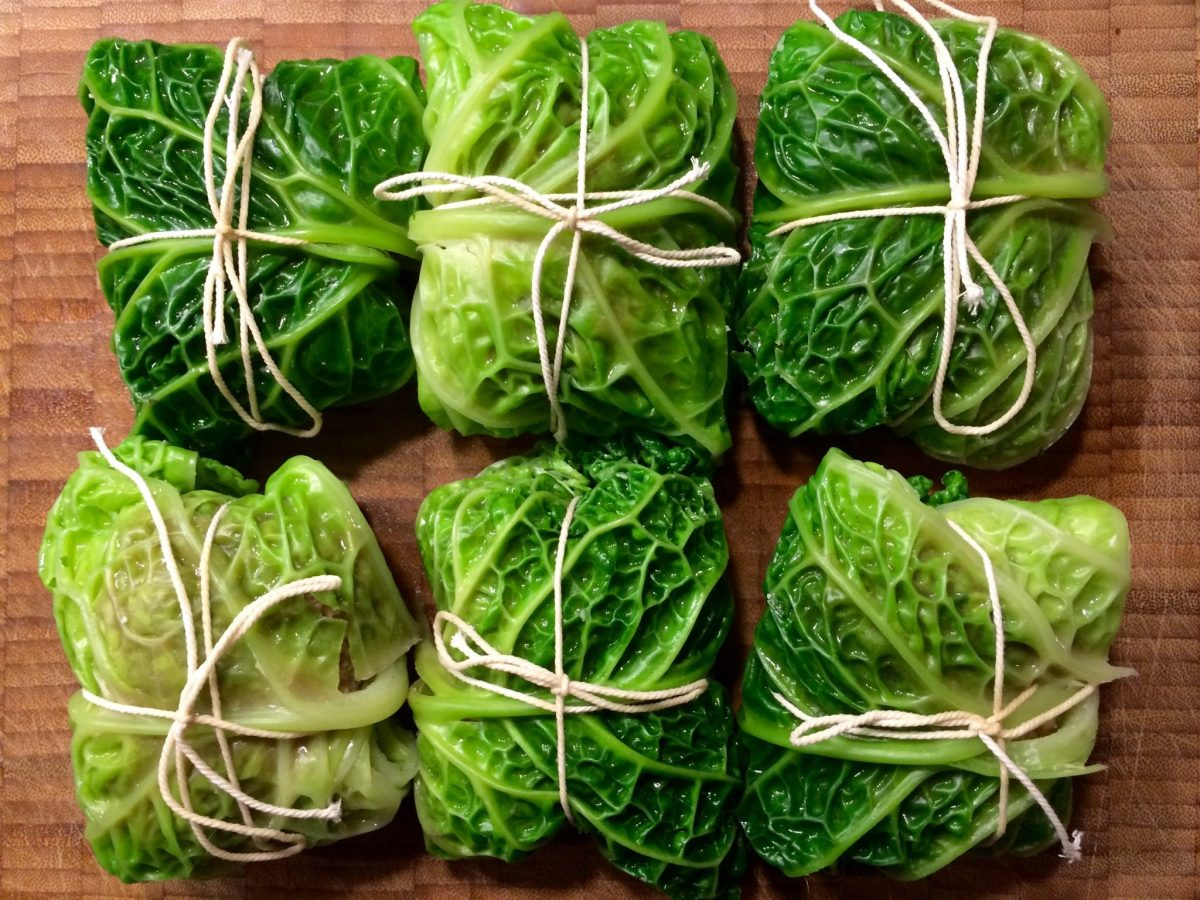 Kohlrouladen   Stuffed cabbage leaves (recipe)