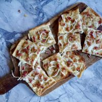 Flammkuchen (A Recipe on The Cook's Cook)