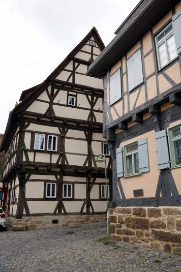 Half-timber buildings in Sindelfingen
