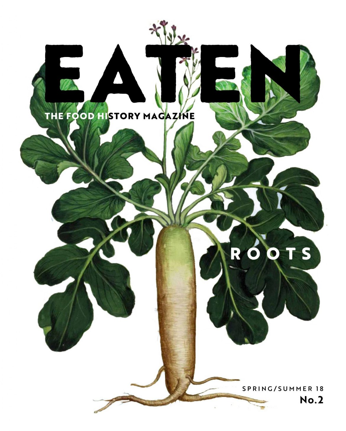 Cover of Eaten Magazine Issue 2: Roots