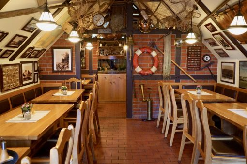Inside the Gaststätte