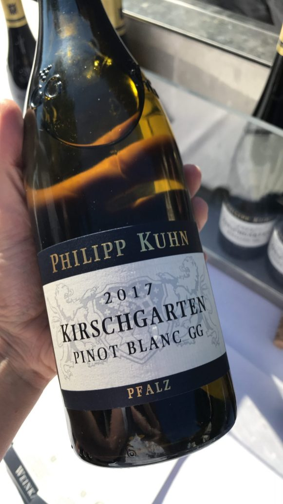 Bottle of Philipp Kuhn 2017 Pino Blanc GG