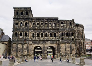 Porta Nigra, Trier, from outside the city