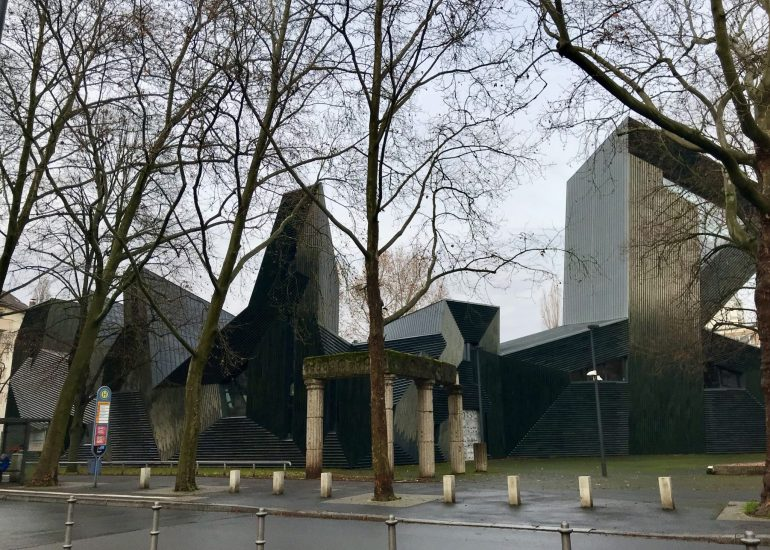 The New Synagogue in Mainz