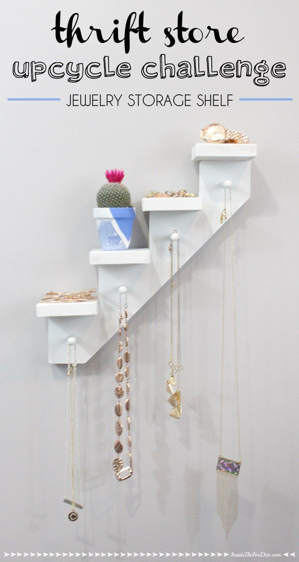 jewelry-shelf-storage-thrift-store-upcycle