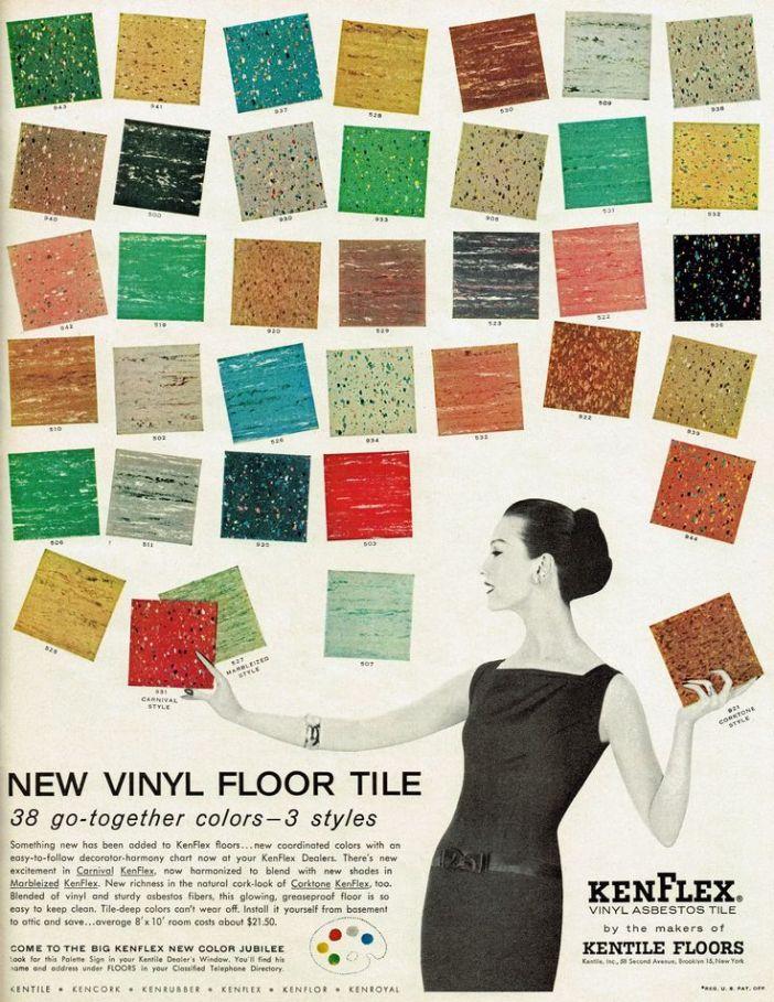 Kenflex Asbestos Floor Tiles