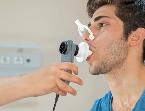 Image result for Detect Mesothelioma in with Breath Test