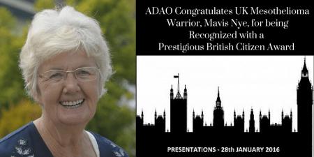 Mavis Nye British Citizen Award CANVA