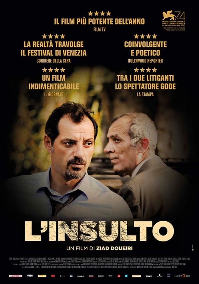 L'insulto (2017) poster locandina