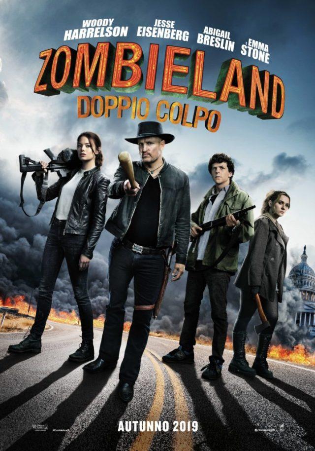 Zombieland - Doppio colpo poster locandina
