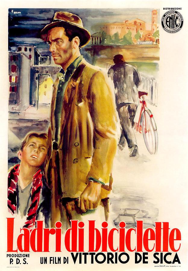 Ladri di biciclette poster locandina