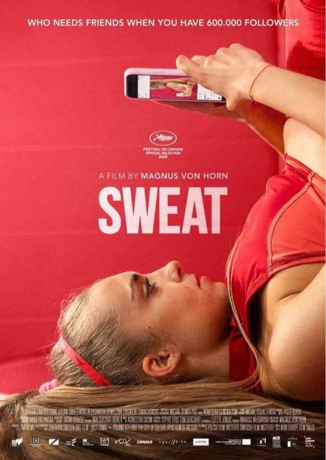 Sweat poster locandina